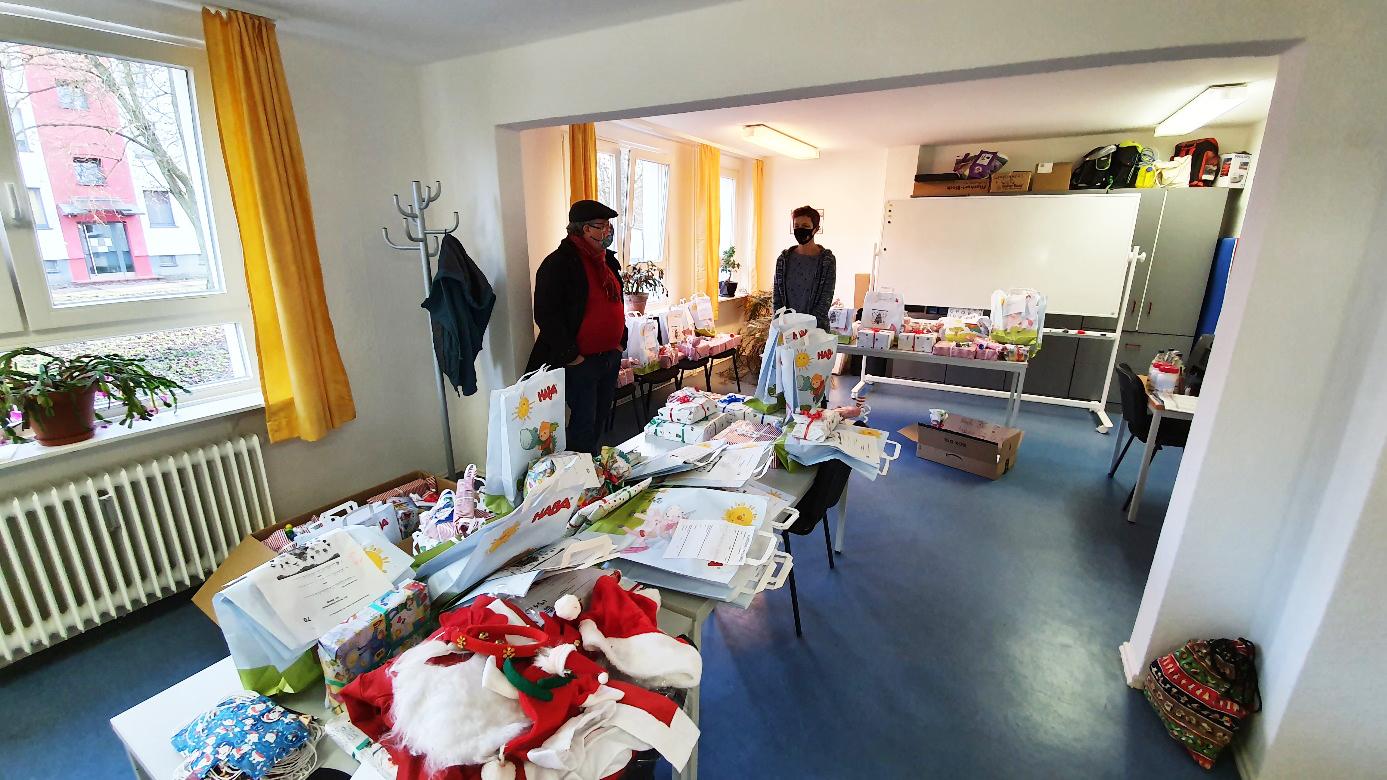 Weihnachtsgeschenke für Kinder FRKJ e.V.